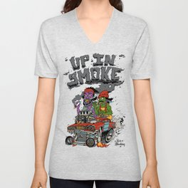Cheech & Chong Love Machine Unisex V-Neck