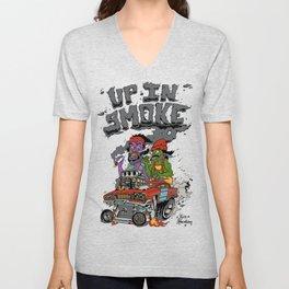 Cheech & Chong Love Machine Unisex V-Neck