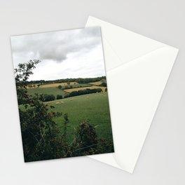 England rural landscape Stationery Cards