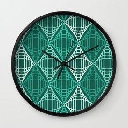 Op Art 134 Wall Clock