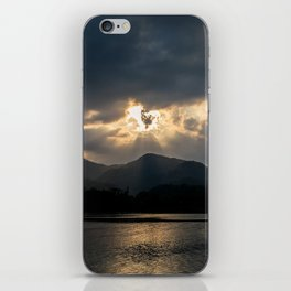 Shining Eye on the Sky iPhone Skin