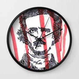 The Poe Wall Clock