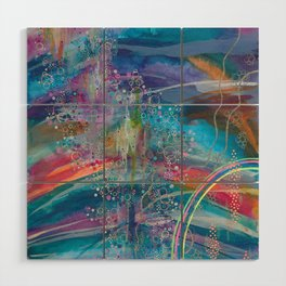 dreaming in color Wood Wall Art
