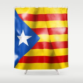 Estelada Flag Shower Curtain