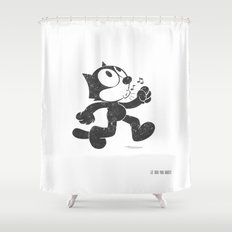 Felix The Cat Shower Curtain