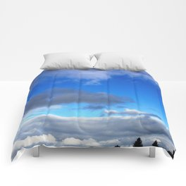 Head In The Clouds Comforters