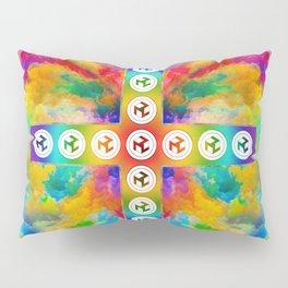 Antahkarana Cross - Male  Antahkarana Pillow Sham