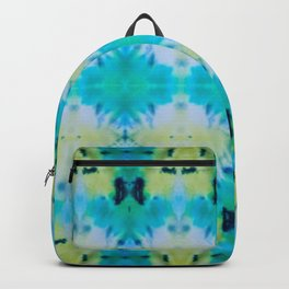 Sun Risen Kaleidoscope Collage Backpack