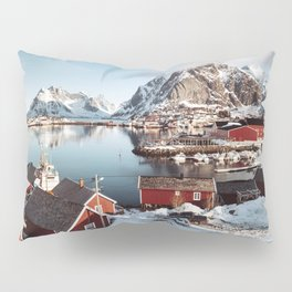 reine at lofoten Pillow Sham