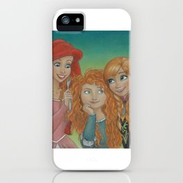 Redheaded Princesses iPhone Case