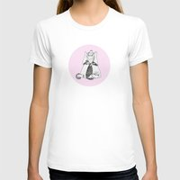 shih tzu T-shirts featuring A Decapitated Anne Boleyn & Shih-tzu by twmmorgan