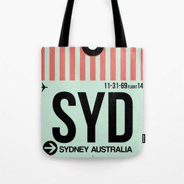 SYD Sydney Luggage Tag 1 Tote Bag