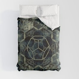 Sacred Geometry for your daily life -  Platonic Solids - ETHER Comforters