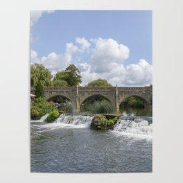 Bathampton bridge Poster