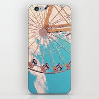 ferris wheel iPhone & iPod Skins featuring Ferris Wheel by Katie_Photography