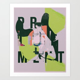 PRETIRE Art Print