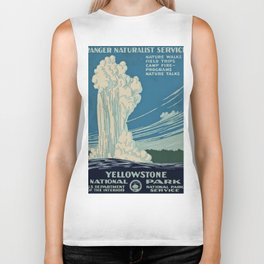 Yellowstone Works Progress Administration Biker Tank