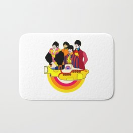 Yellow Submarine - Pop Art Bath Mat