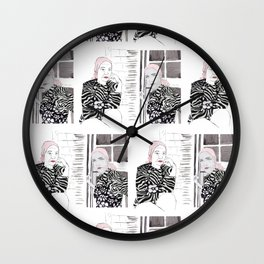 Little Edie Wall Clock