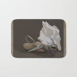 Rock, Paper, Scissors Bath Mat