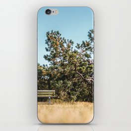 She daydreamed of surreal worlds and they vanished into matter. iPhone Skin
