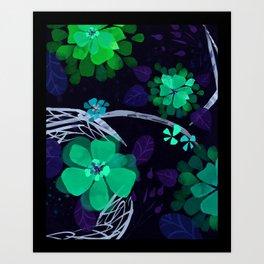 Flora Queen Art Print