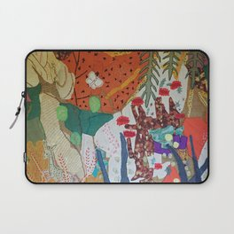 Llama and butterfly Laptop Sleeve