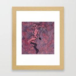 PinkStormTrooperDancer Framed Art Print