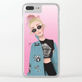 Gigi Hadid Clear iPhone Case