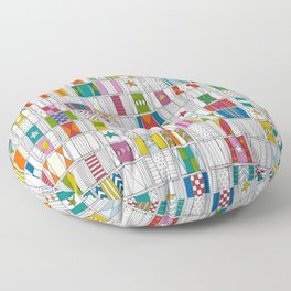 racing silks Floor Pillow