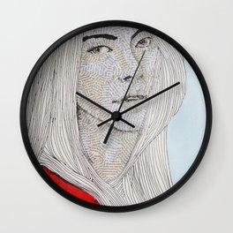 Staring Wall Clock