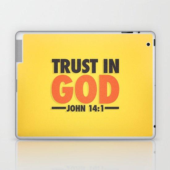 Trust in God Laptop & iPad Skin