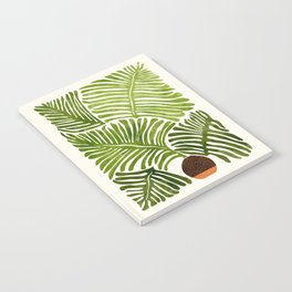 Summer Fern / Simple Modern Watercolor Notebook