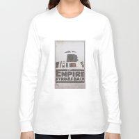 r2d2 Long Sleeve T-shirts featuring R2D2 by David Landau