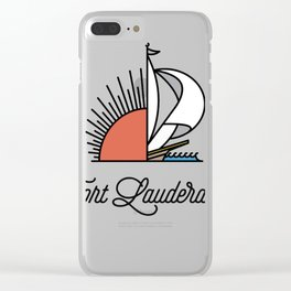 Fort Lauderdale Clear iPhone Case