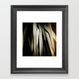 Leafy Grass Detail Framed Art Print