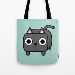 Cat Loaf - Grey Kitty Tote Bag