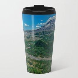 Landscape Mt. St. Helens in Summertime Travel Mug