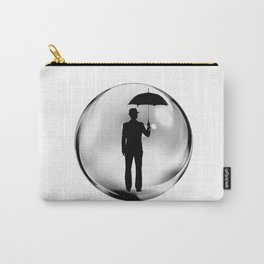 Man in the Bubble Carry-All Pouch