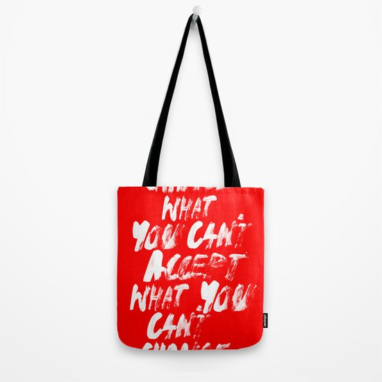 Accept / Change Tote Bag