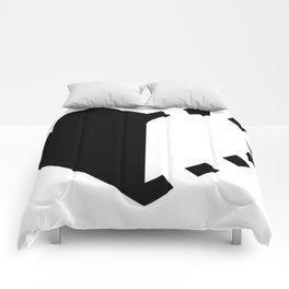 Micah Mason Foundation Heart - Black Comforters