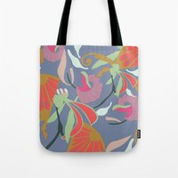 oriental Tote Bags featuring Oriental  by Laura Sturdy