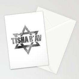 Tisha B'Av - commemorate about Jewish ancestors sacrifice Stationery Cards