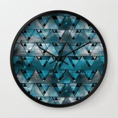 TriangleTracts Wall Clock