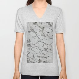 Abstract concrete wall Unisex V-Neck
