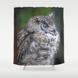 """Zzzzzzzz"".......Said the Owl Shower Curtain"