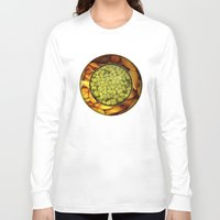 pasta Long Sleeve T-shirts featuring Pasta + Beans by romano