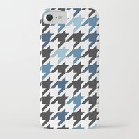 tooth iPhone & iPod Cases featuring Blue Tooth by Project M