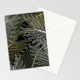 TROPICAL LEAVES GARDEN Stationery Cards