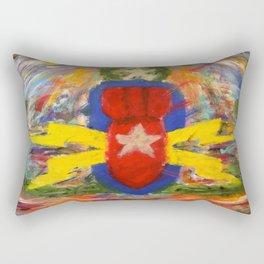 Master Blaster Rectangular Pillow
